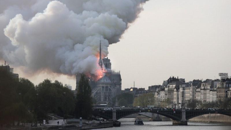 Френски прокурор: Нищо засега не говори за умишлен палеж на