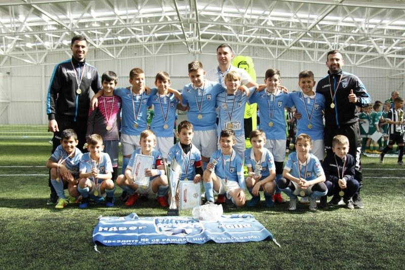 Футболна академия Супер Старс на силен турнир в Хърватска