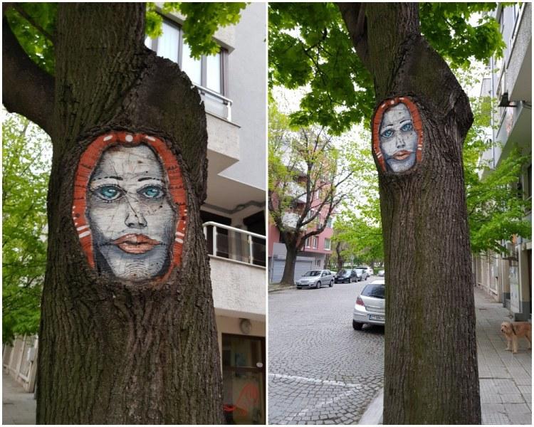 Още едно мистично лице се появи в Пловдив
