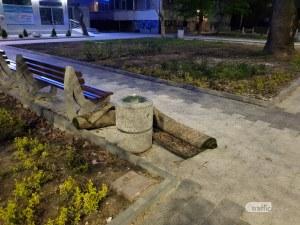 Изхвърлиха трупа на цивилизования човек, завит в килим, в центъра на Пловдив