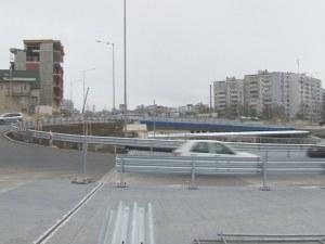 Тече инженерна мисъл: Новото кръгово във Варна – под наклон!?