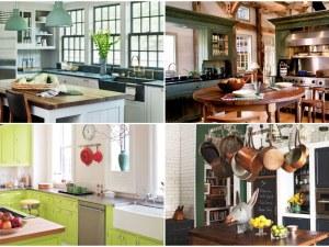 Преобразете кухнята в зелената гама! Внесете пролетта в дома си