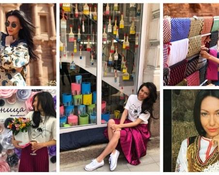 Красиви и работливи: Инфлуенсърка отвори цветно арт ателие в Пловдив! Мечтае да живее в Африка