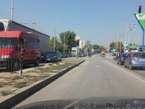 Микробус отнесе пешеходец, движейки се на заден ход в Пловдив