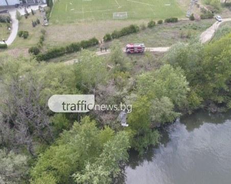 Кадри от дрон показват мястото на авиокатастрофата с двама загинали