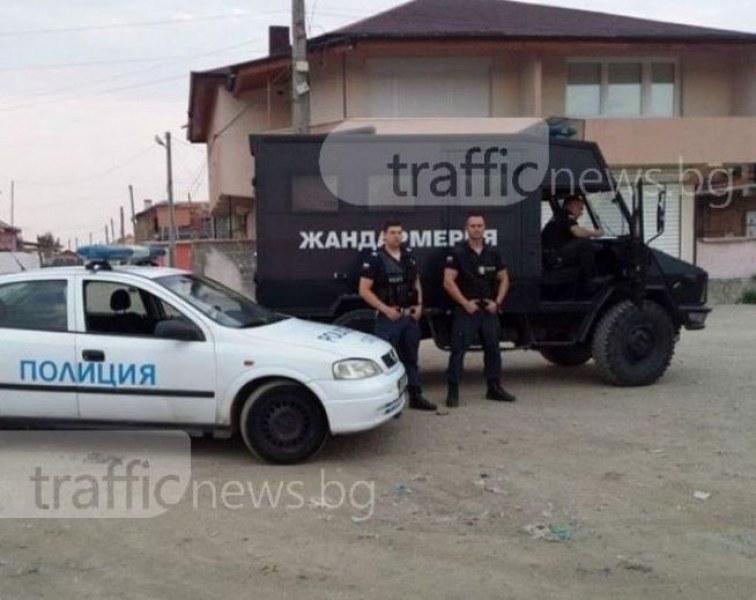 Удар на полицията! Арестуваха дилър с голямо количество дрога и незаконни оръжия в Съединение
