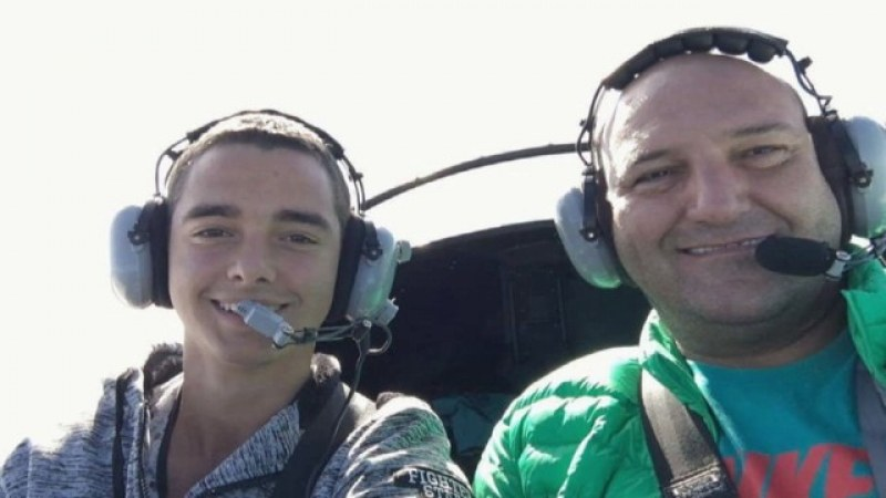 Валентин остава завинаги на 18, отлетя най-запаленият авиолюбител