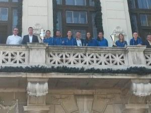 Марица показа трофеите от най-силния си сезон