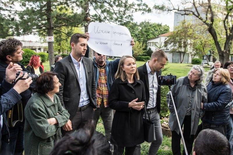 Как се използват страховете на пловдивчани, или Дани Каназирева ли е спасителят на зелените площи?