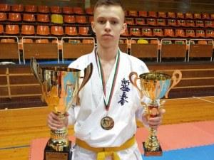 Каратистите на Тракия със злато и два сребърни медала от турнира