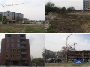 Строителни кранове окупираха булевард в Пловдив! Кооперациите в района никнат като гъби