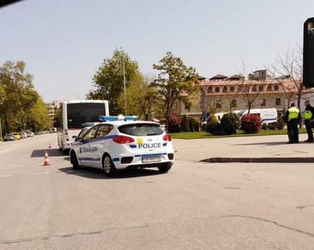 Автобус блъсна пешеходец в Тракия! Пострадалият е в тежко състояние
