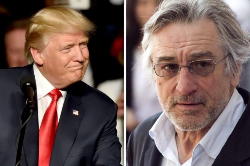 Робърт де Ниро: Тръмп е тотален загубеняк