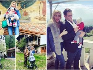 Антония Батинкова показа на сина си красотите на България