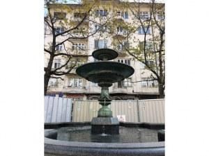 Фонтанът на площад