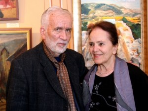 Задигнаха 12 картини на съпругата на Любомир Левчев