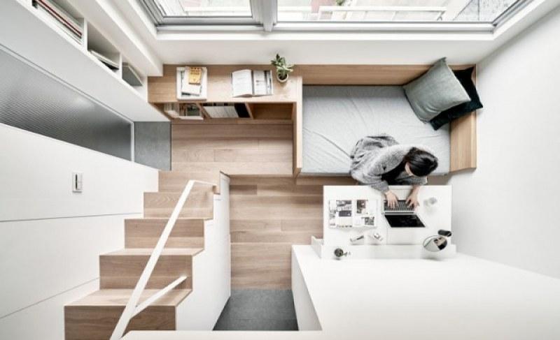 Можете ли да повярвате, че този апартамент е само 22 квадрата?