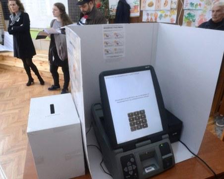 Съдът отстрани последната бариера пред машинното гласуване