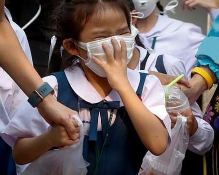 Лютив газ в класна стая!  Евакуираха учениците