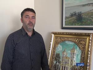 Картина с позлатен обков ще дарят на папа Франциск в Раковски