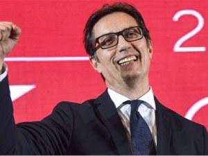 Албанският вот направи Пендаровски македонски президент