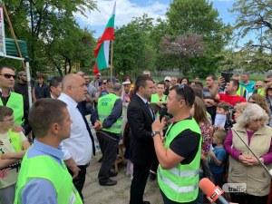 Бойко Борисов: Паркът в Кършияка ще остане зелен! Да забравят за застрояване