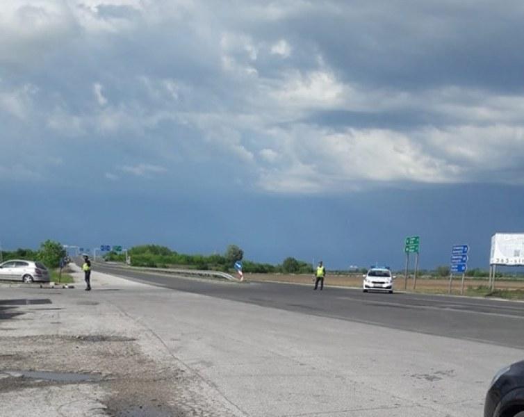 Затвориха Карловско шосе заради полета на папата