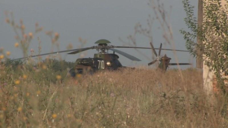 Вертолетът, свалил жици в Стамболийски, бил управляван от неподготвен пилот - наказаха началника му