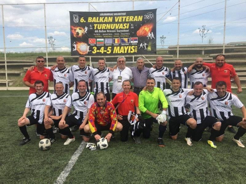 Ветераните на Локо спечелиха силен турнир в Турция