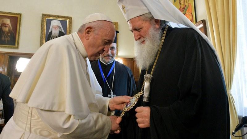 И оценката на папа Франциск за патриарх Неофит е: Велик Божи човек!
