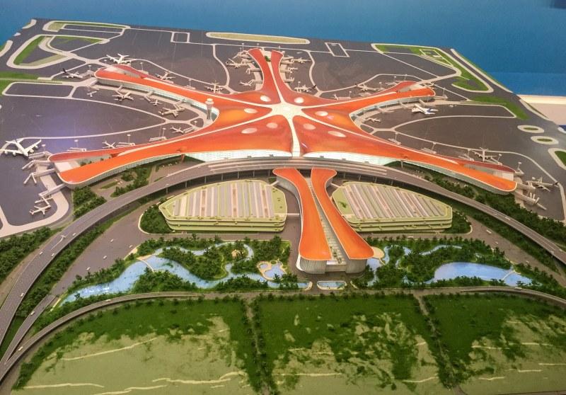 Строят най-натовареното летище в света в Пекин