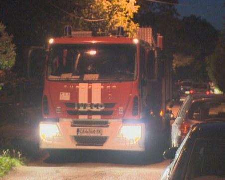 Пожар в Бургас погълна машини за асфалтиране. Подозират умисъл!