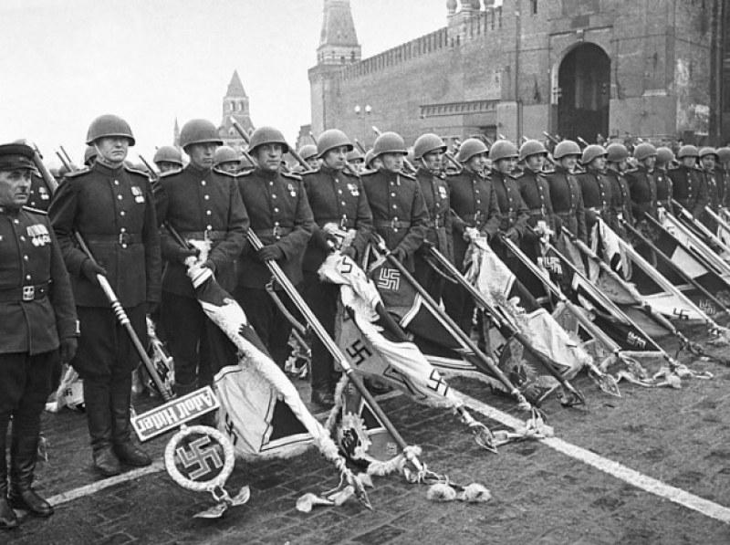 Как е изглеждал парадът на Победата през 1945 година?