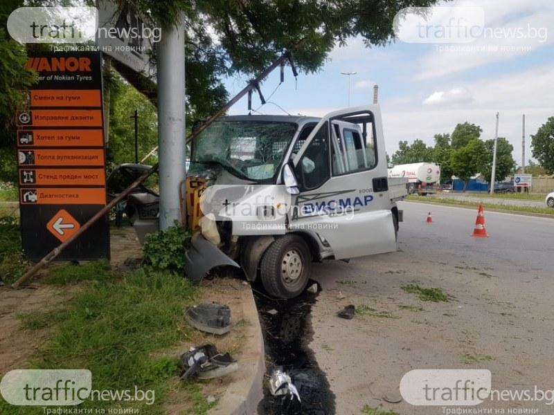 Пътник от смачкания камион на Ален Мак остава в болница
