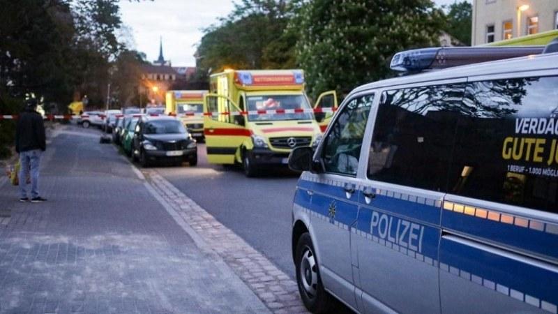 Кървав екшън в Дрезден. Баща уби двете си деца и рани жена си