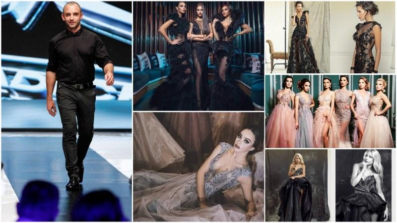 Създателят на рокли-шедьоври Стоян Радичев за абитуриентките през 2019