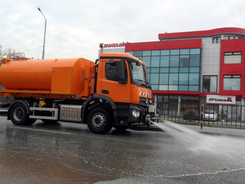 За по-чист Пловдив! Ето го новия график за миенето на улиците