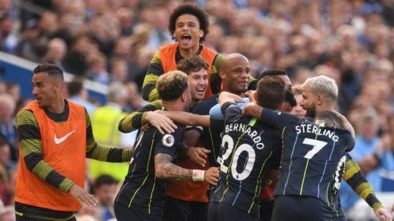 Манчестър Сити отново шампион на Англия