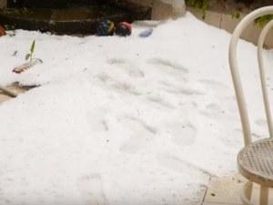 Сняг, градушки и силни бури връхлетяха Италия