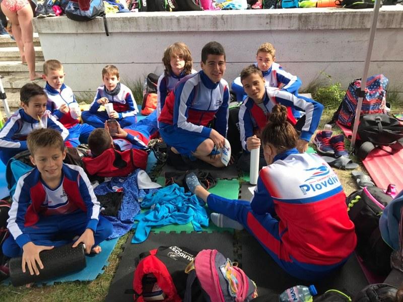 Младите плувци на Пловдив 2019 с 21 медала от голям международен турнир