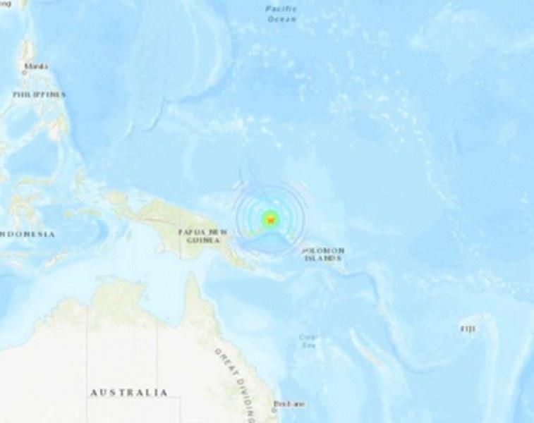 Опасност от цунами! 7.7 по Рихтер разтърси Папуа Нова Гвинея