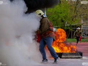 Млади огнеборци се включват в състезание в Пловдив