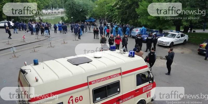 Първо сбиване между фенове! 18 души са в ареста