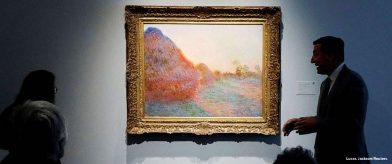 Рекорд! Продадоха картина на Клод Моне за 110.7 милиона долара