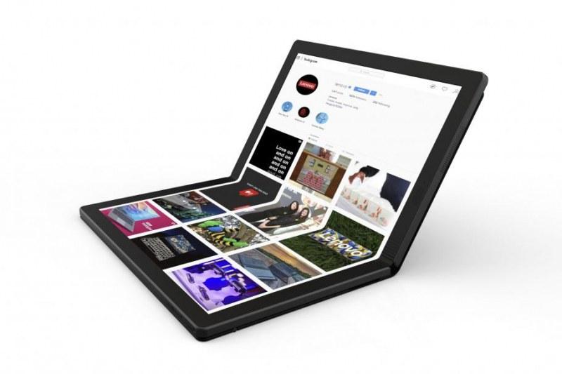 След сгъваемия смартфон – сгъваем лаптоп. Не е на Samsung, а на Lenovo