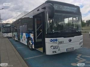 Столичният градски пак с нови автобуси. Този път обновена е линия №11