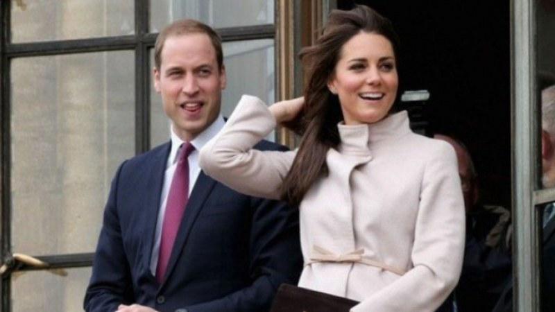 Уилям и Кейт посетиха малкия Арчи