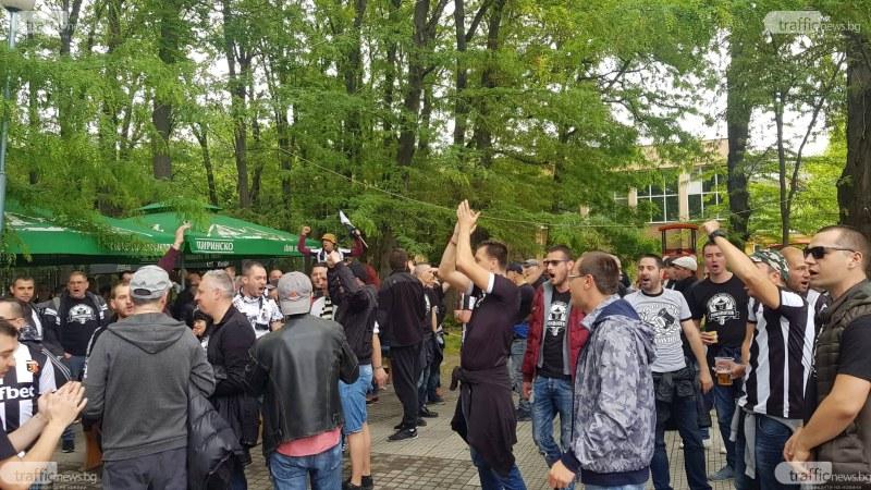 Фенове превземат днес центъра на Пловдив! Празнуват Купата на България