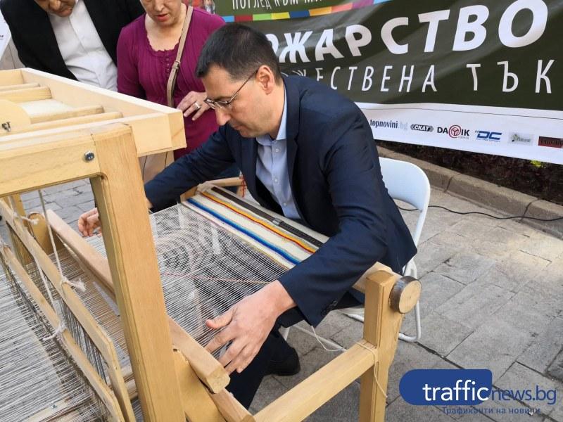 Тотев заплете първите нишки на 2019-сантиметровата черга