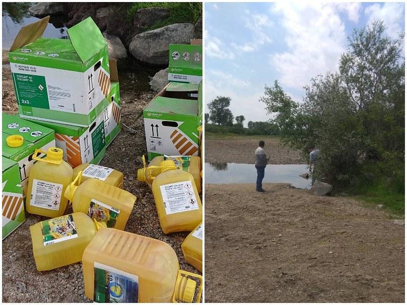 След сигнал на TrafficNews: Откриха фермера, изхвърлил опасни отпадъци в коритото на Стряма